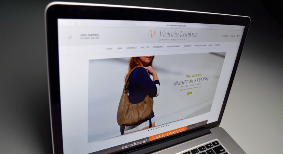 Digital - Rebrand & Website For A USA-based Manufacturer Of Leather Handbags